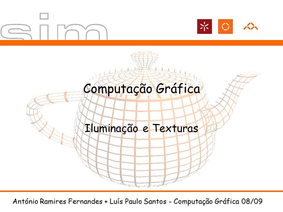 Computação Gráfica Iluminação e Texturas