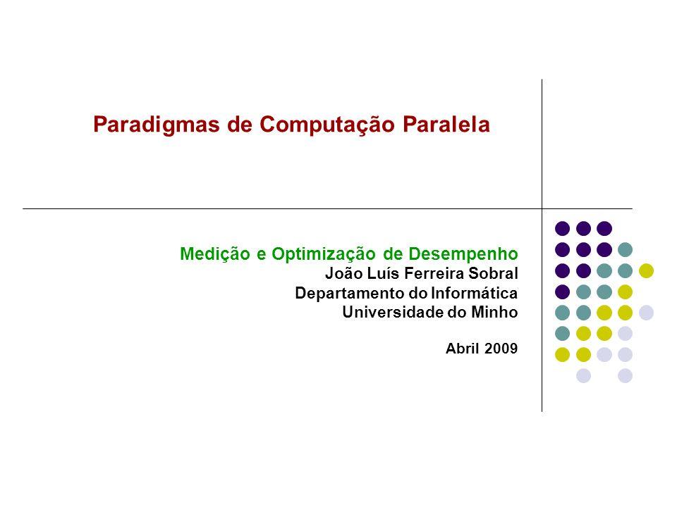 Paradigmas de Computação Paralela