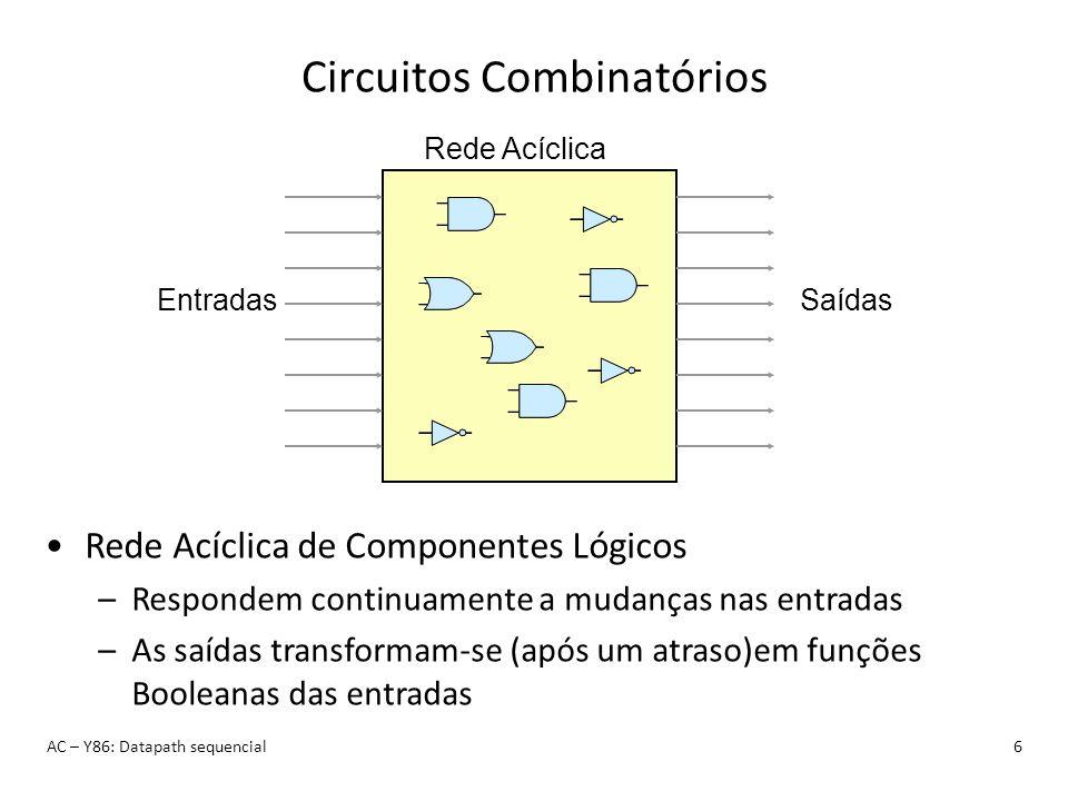 Circuitos Combinatórios