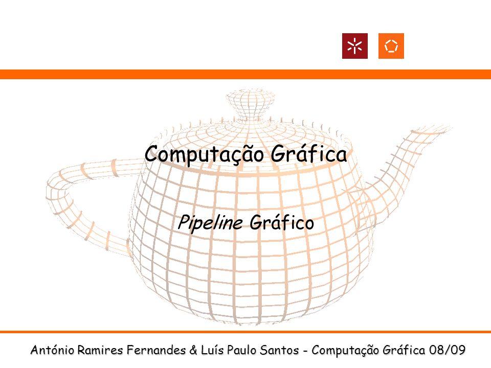 Computação Gráfica Pipeline Gráfico