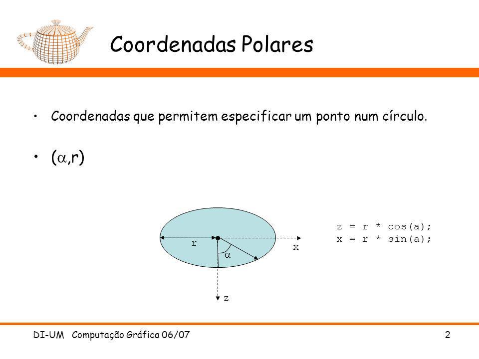 Coordenadas Polares (a,r)