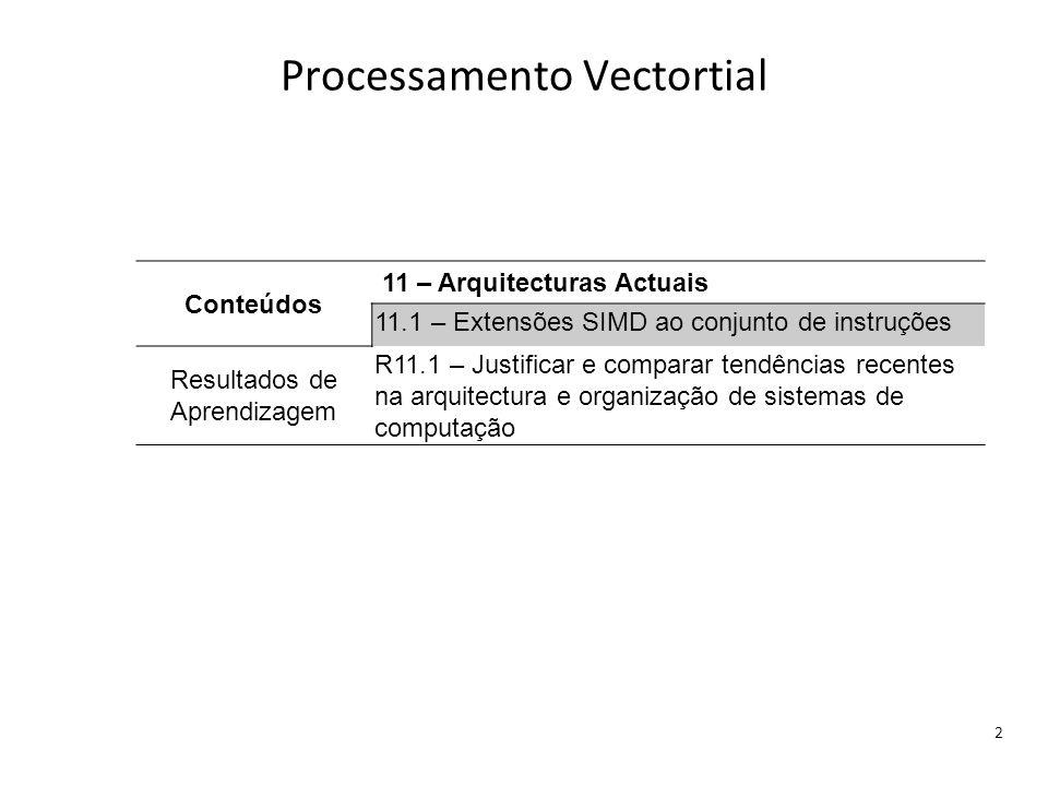 Processamento Vectortial
