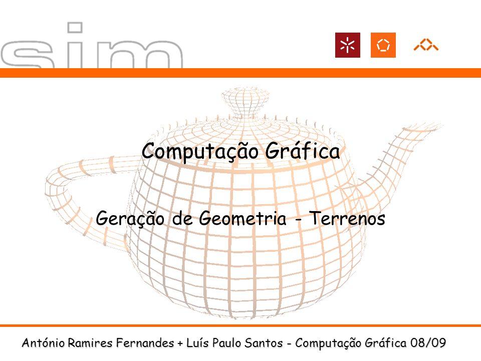 Geração de Geometria - Terrenos