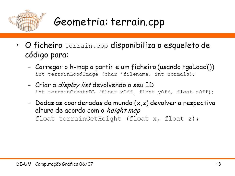 Geometria: terrain.cpp