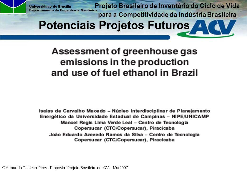 Potenciais Projetos Futuros