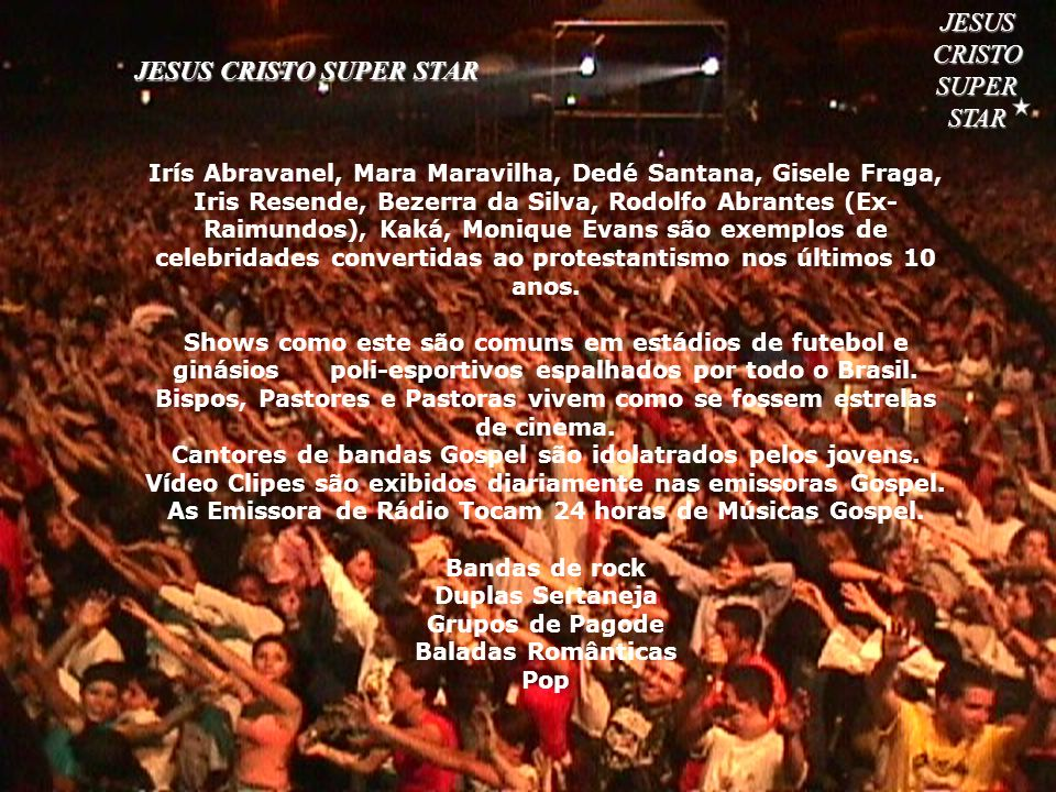 JESUS CRISTO SUPER STAR