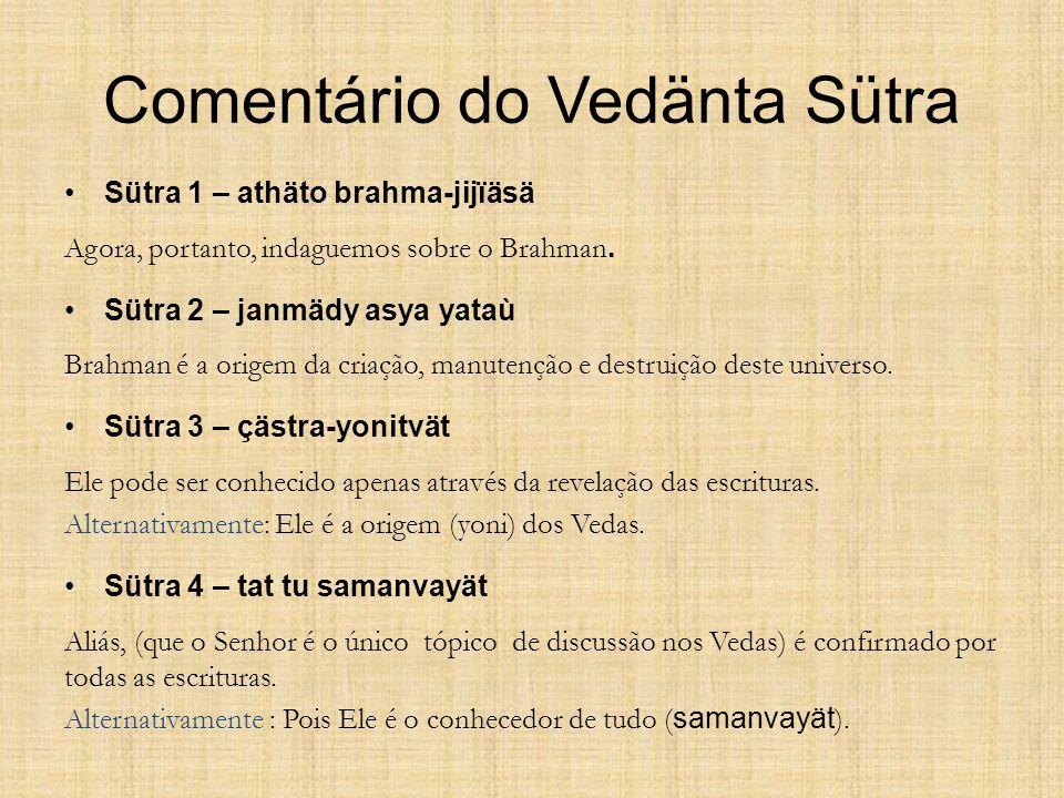 Comentário do Vedänta Sütra