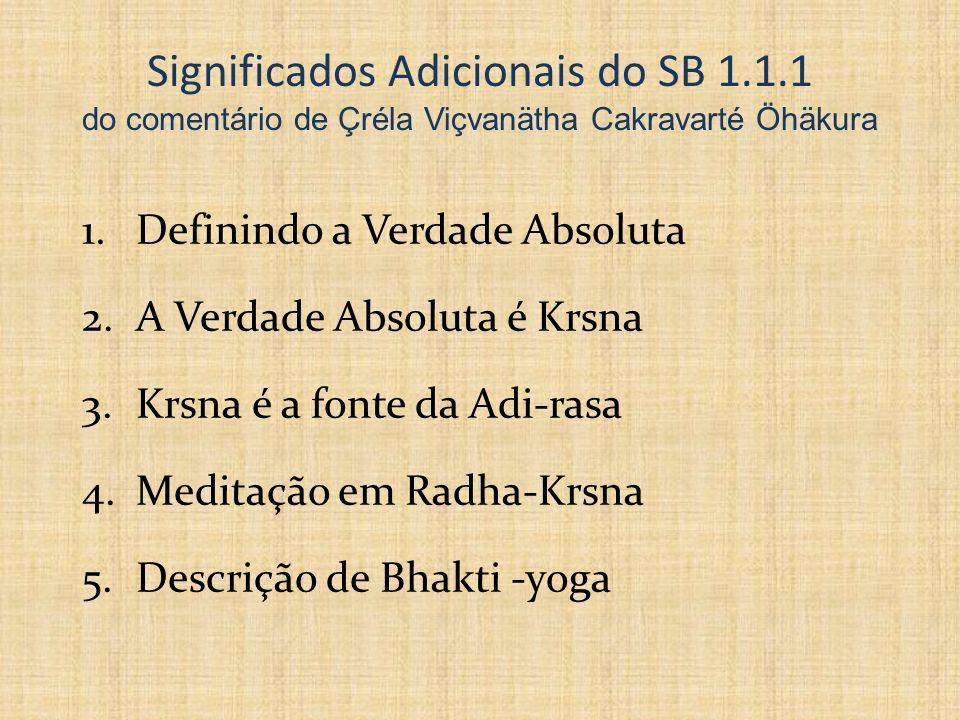 Significados Adicionais do SB 1. 1