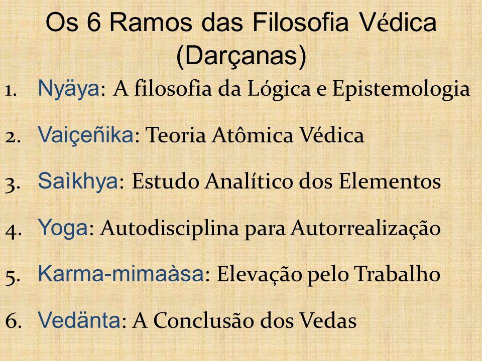 Os 6 Ramos das Filosofia Védica (Darçanas)