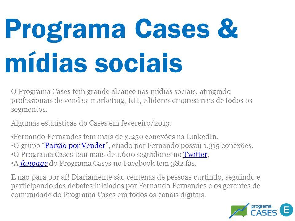 Programa Cases & mídias sociais