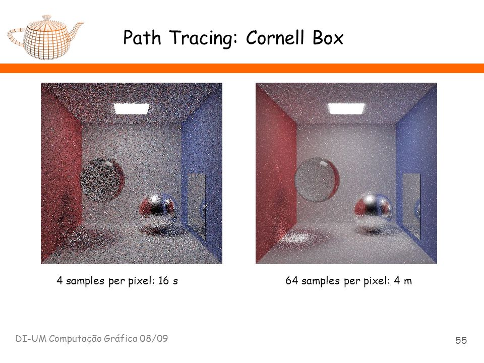 Path Tracing: Cornell Box