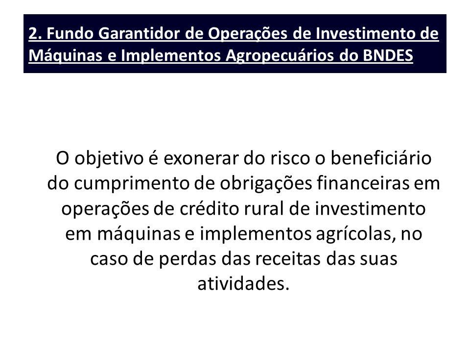 2. Fundo Garantidor de Operações de Investimento de Máquinas e Implementos Agropecuários do BNDES