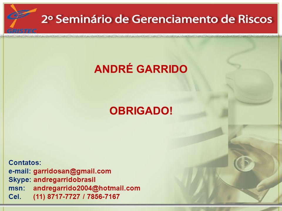 ANDRÉ GARRIDO OBRIGADO!