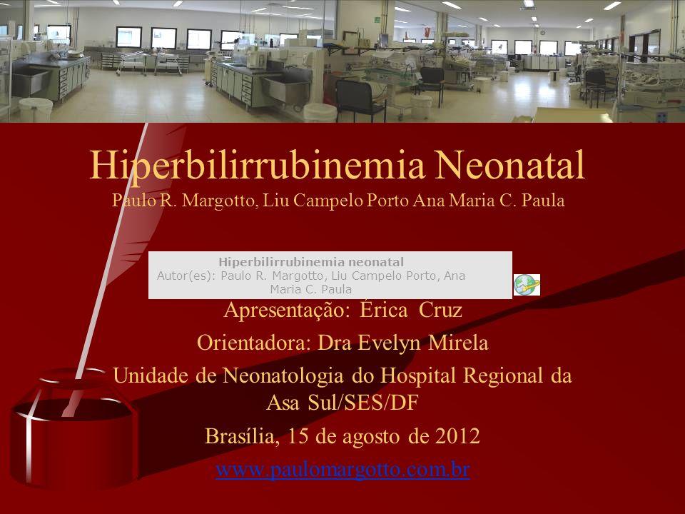 Hiperbilirrubinemia Neonatal Paulo R