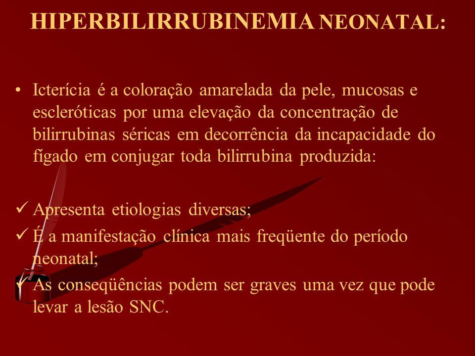 HIPERBILIRRUBINEMIA NEONATAL: