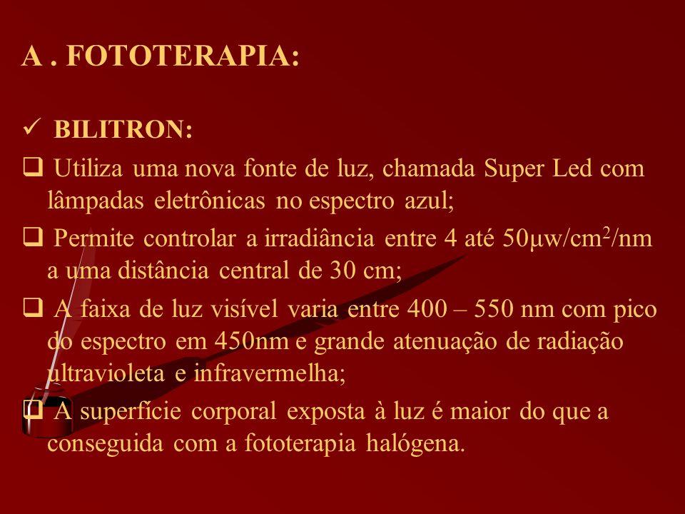 A . FOTOTERAPIA: BILITRON: