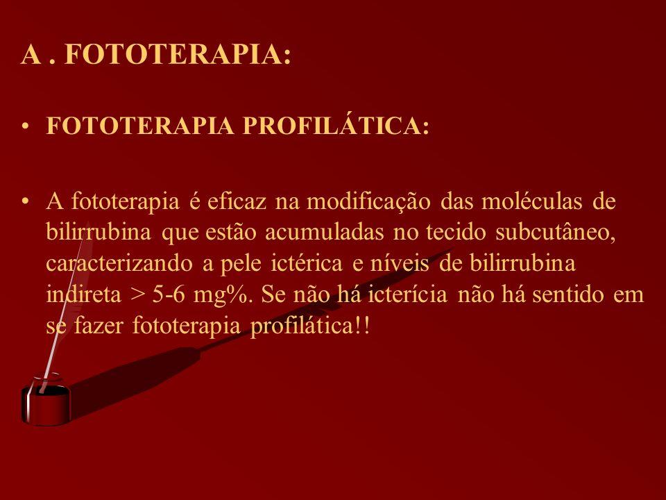 A . FOTOTERAPIA: FOTOTERAPIA PROFILÁTICA: