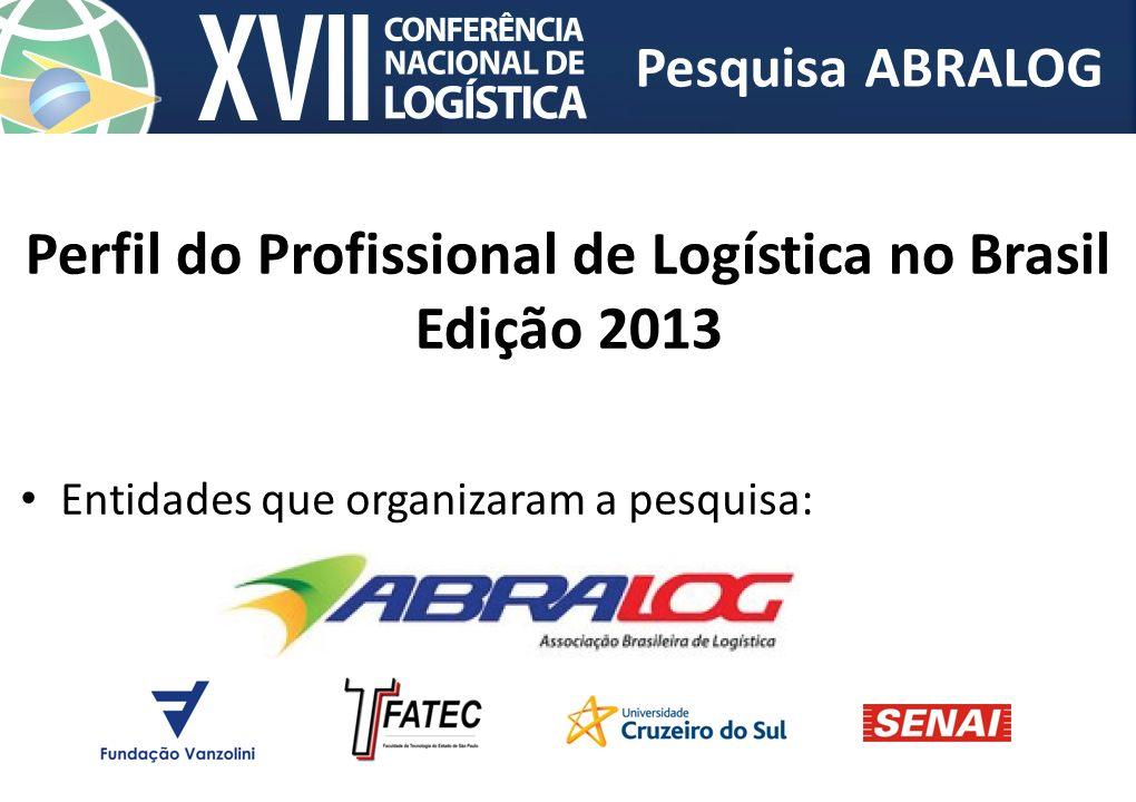 Perfil do Profissional de Logística no Brasil