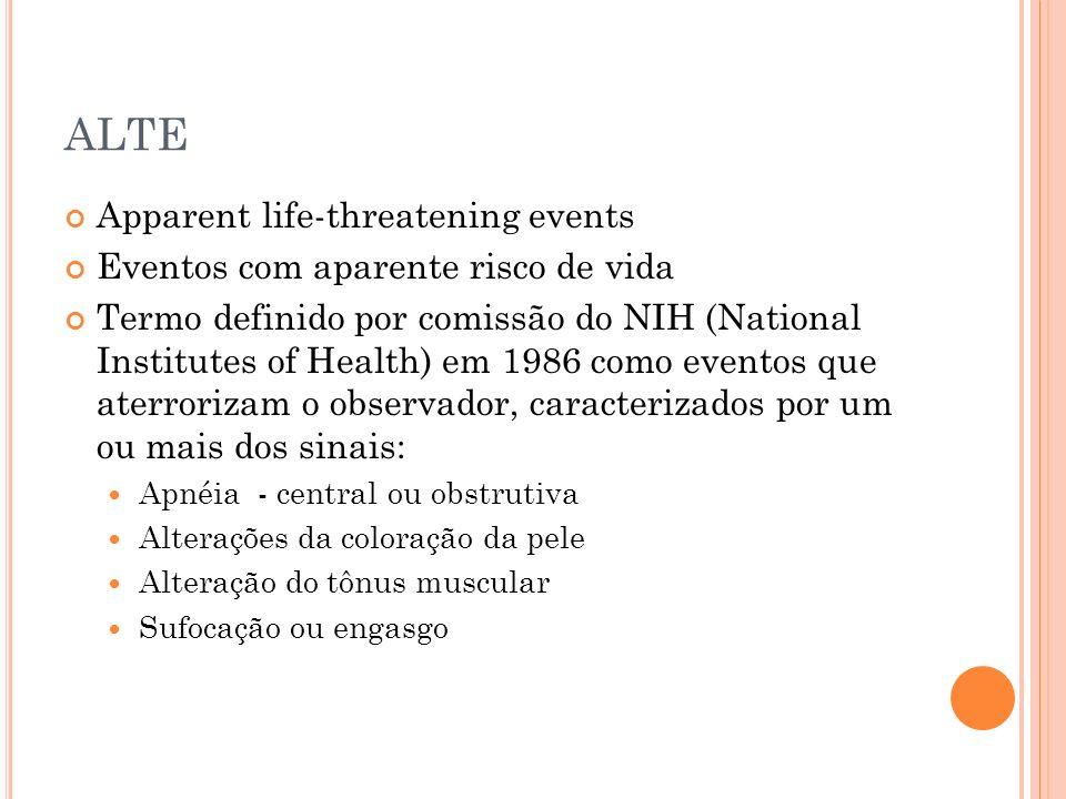 ALTE Apparent life-threatening events