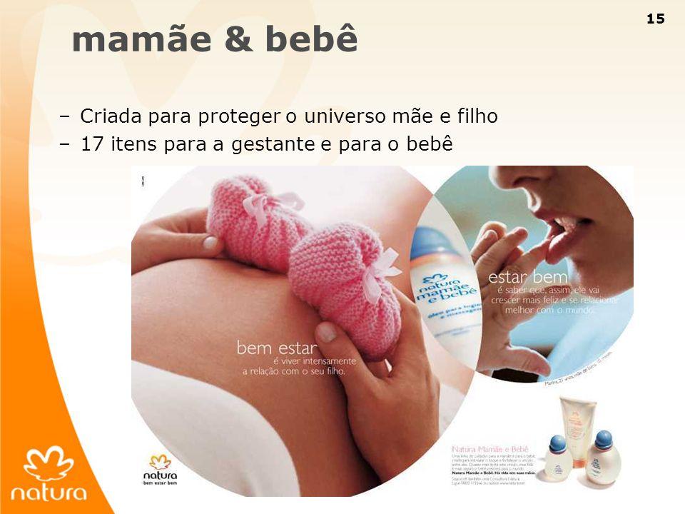 mamãe & bebê Criada para proteger o universo mãe e filho