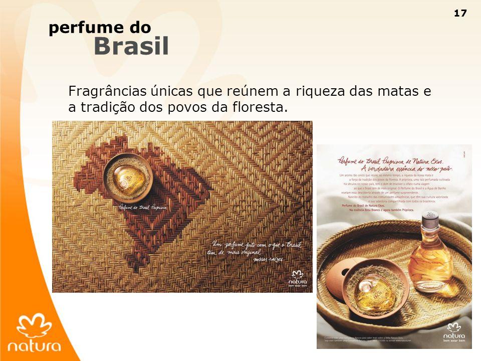 perfume do Brasil.