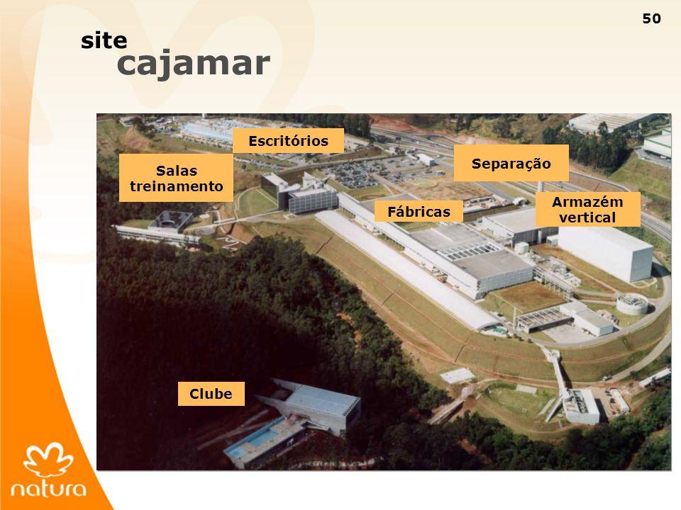 site cajamar Escritórios Separação Salas treinamento Armazém vertical