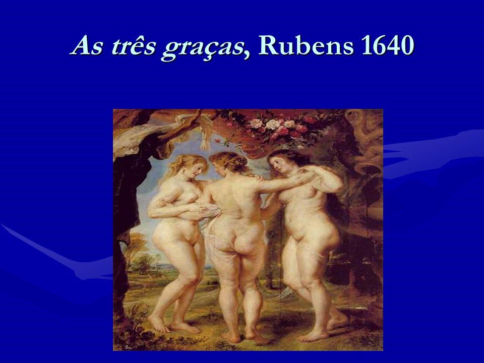As três graças, Rubens 1640