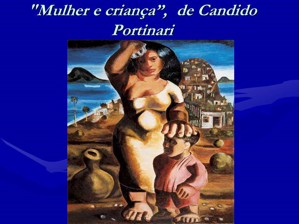 Mulher e criança , de Candido Portinari