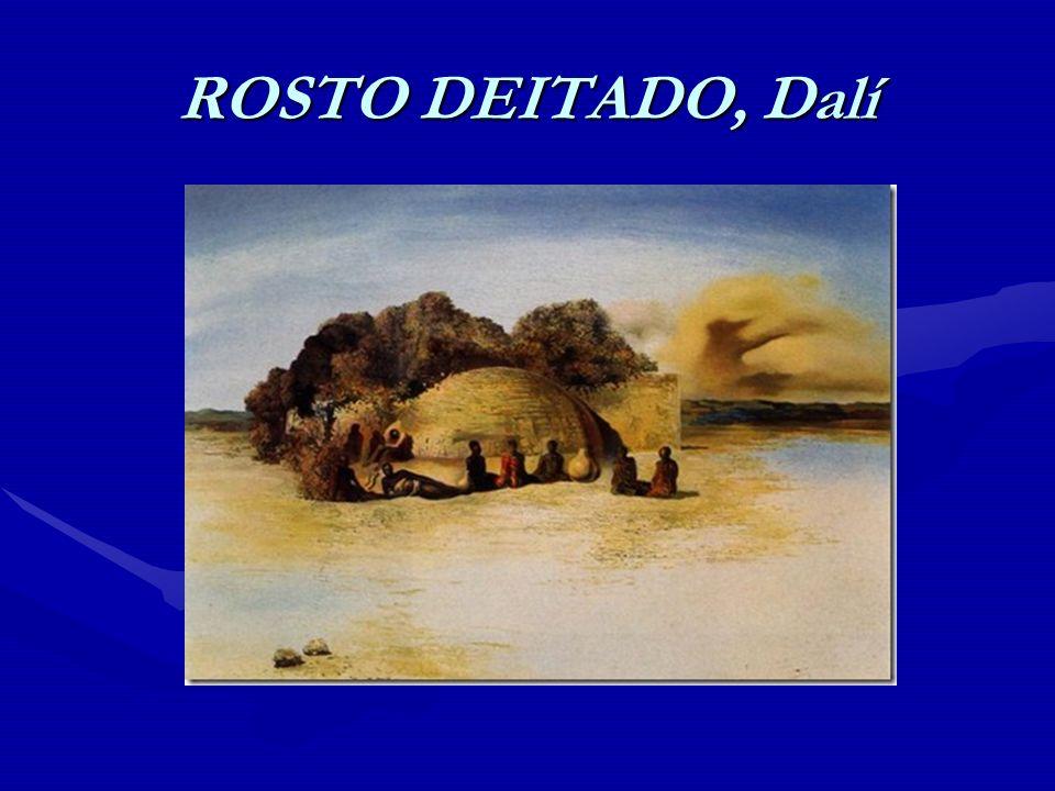 ROSTO DEITADO, Dalí