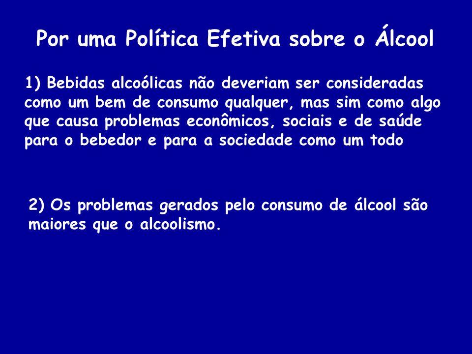 Por uma Política Efetiva sobre o Álcool