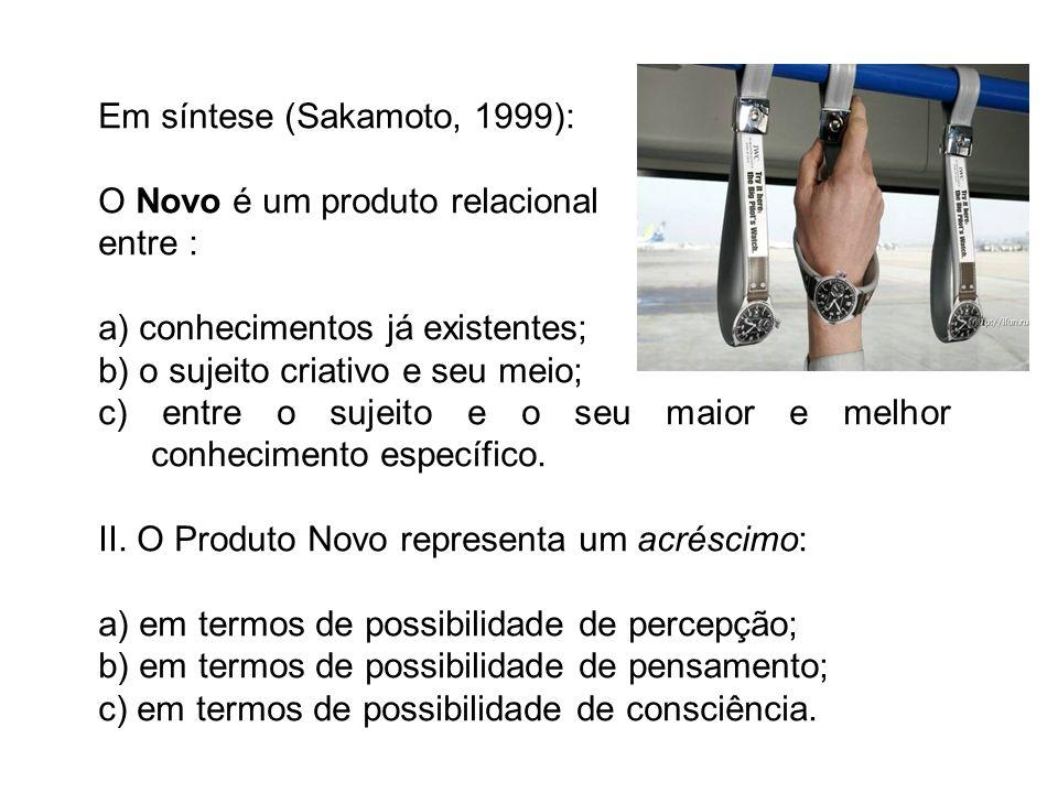Em síntese (Sakamoto, 1999):