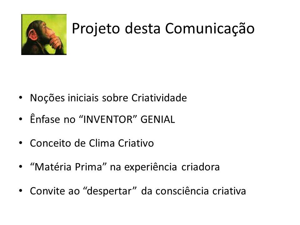 Projeto desta Comunicação