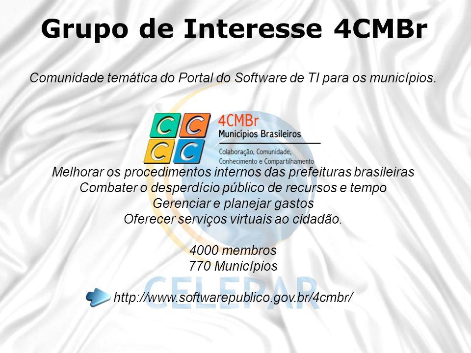Grupo de Interesse 4CMBr
