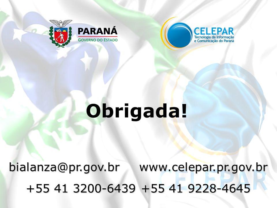 bialanza@pr.gov.br www.celepar.pr.gov.br