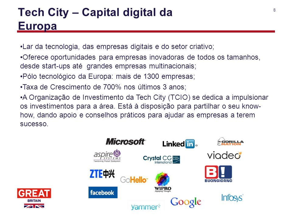 Tech City – Capital digital da Europa