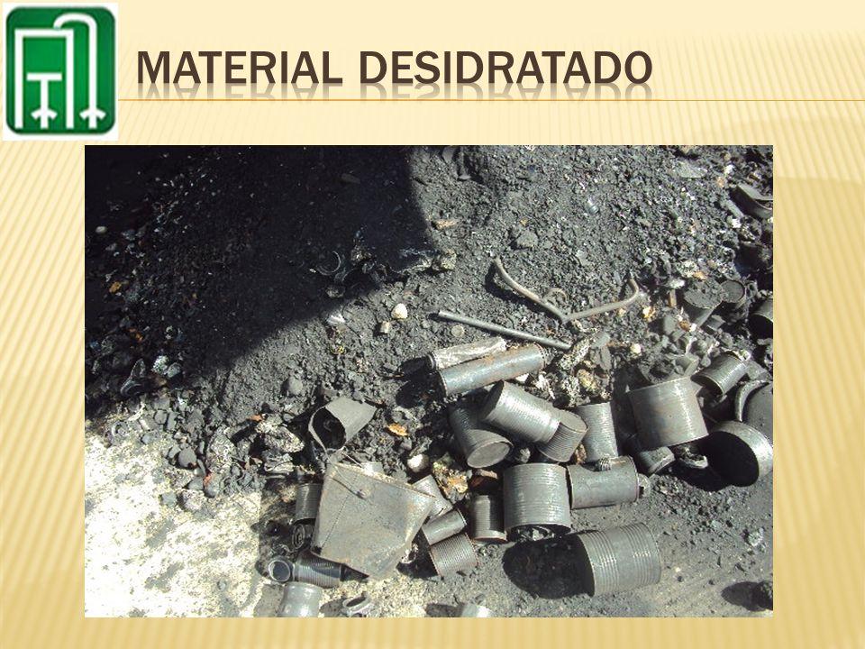 MATERIAL DESIDRATADO