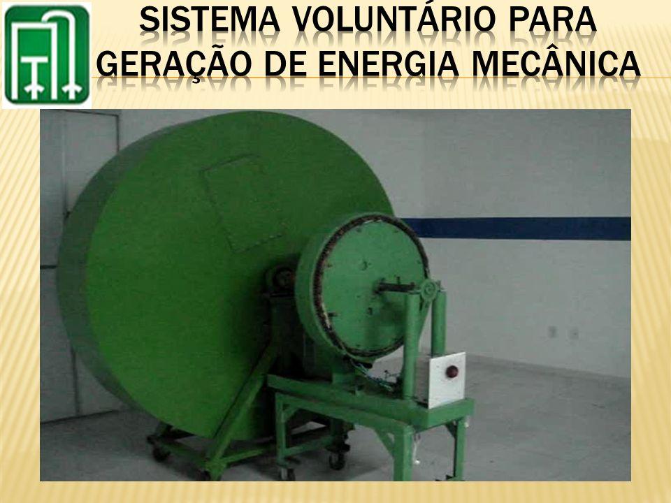 SISTEMA VOLUNTÁRIO PARA GERAÇÃO DE ENERGIA MECÂNICA