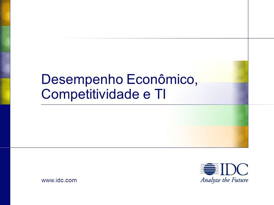 Desempenho Econômico, Competitividade e TI
