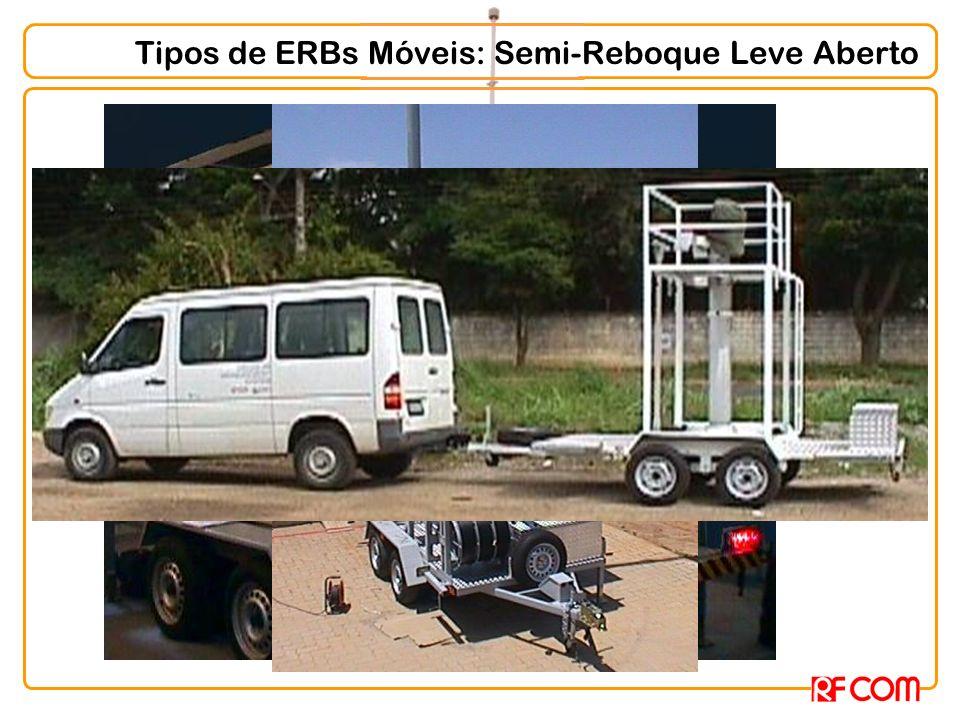 Tipos de ERBs Móveis: Semi-Reboque Leve Aberto