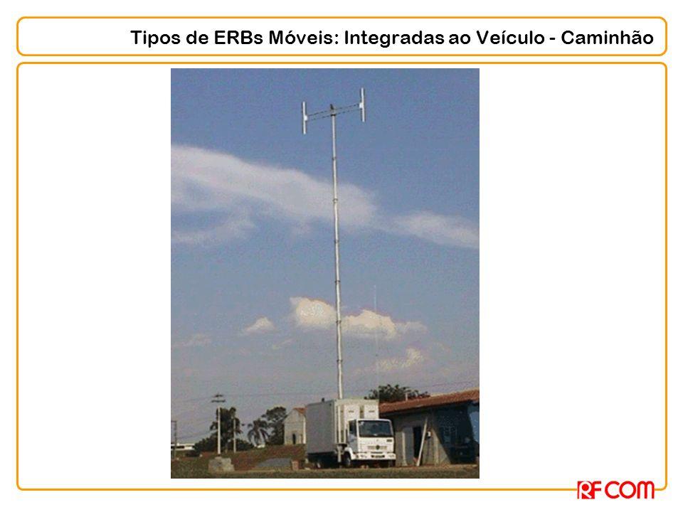 Tipos de ERBs Móveis: Integradas ao Veículo - Caminhão