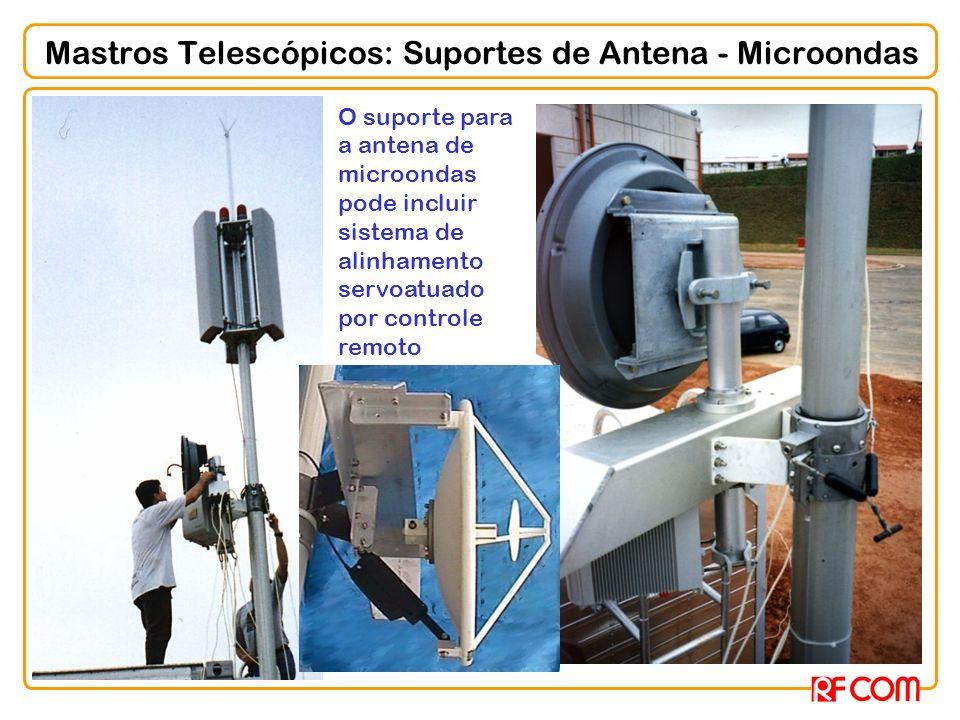 Mastros Telescópicos: Suportes de Antena - Microondas