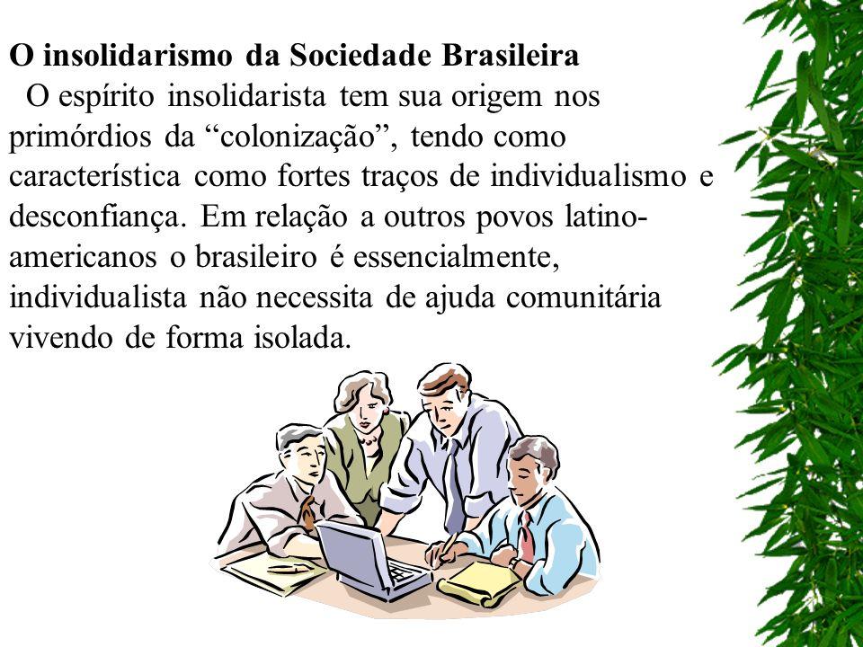 O insolidarismo da Sociedade Brasileira