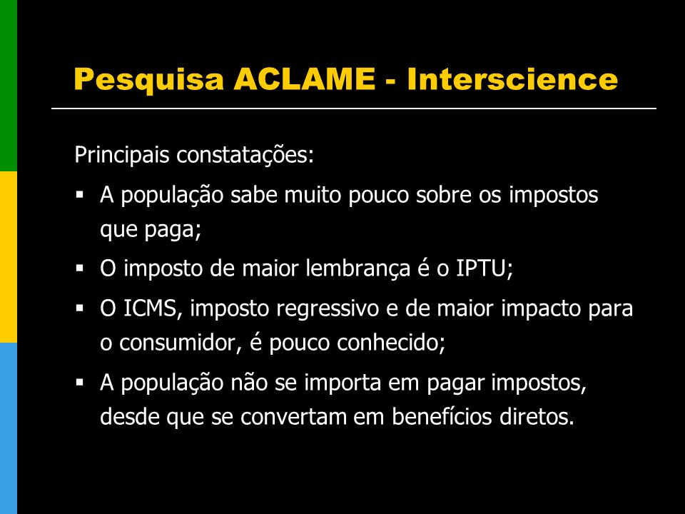 Pesquisa ACLAME - Interscience