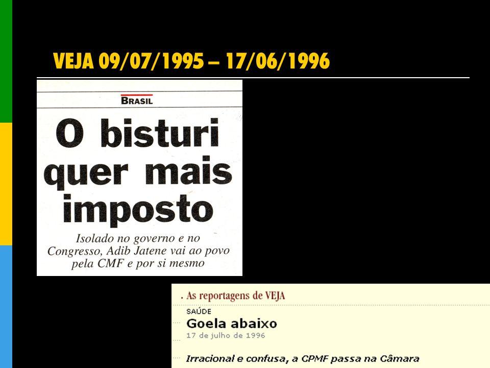 VEJA 09/07/1995 – 17/06/1996