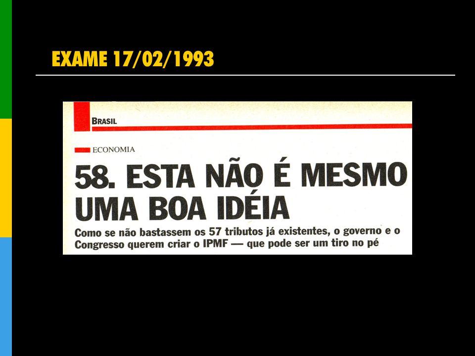EXAME 17/02/1993