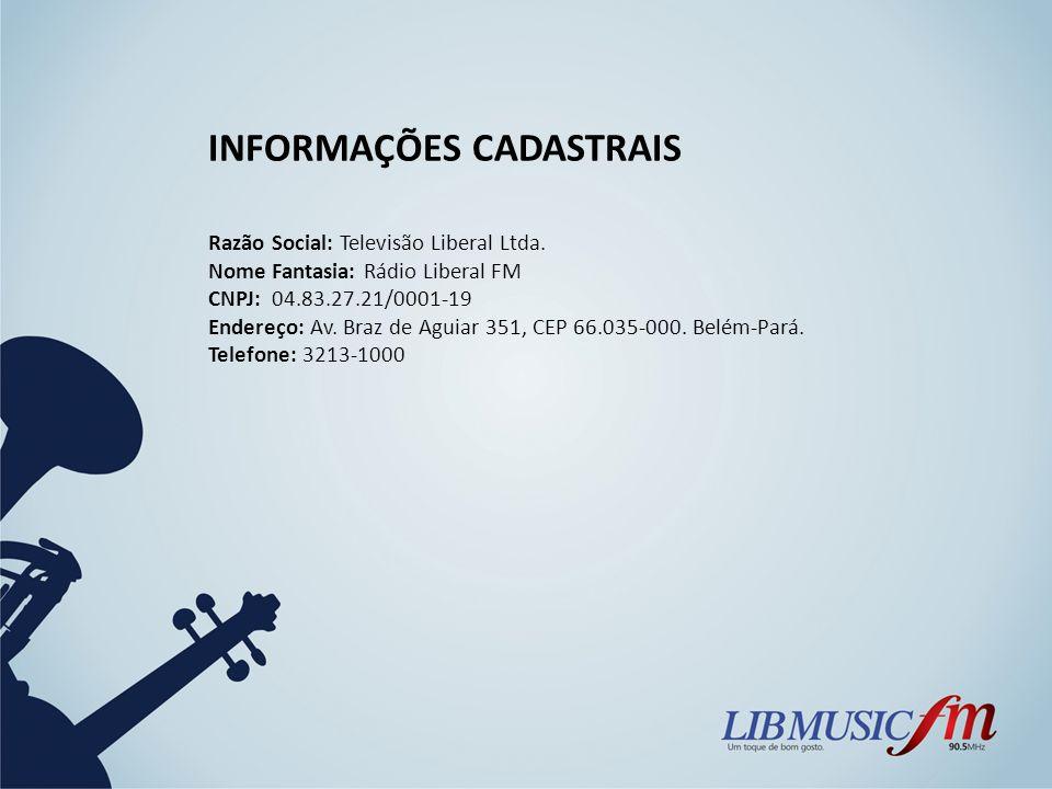 INFORMAÇÕES CADASTRAIS