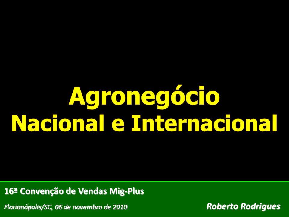 Agronegócio Nacional e Internacional