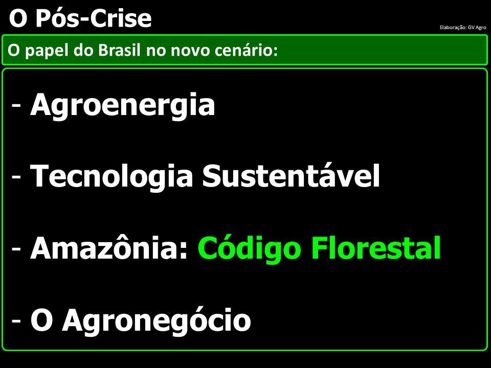 Tecnologia Sustentável Amazônia: Código Florestal O Agronegócio
