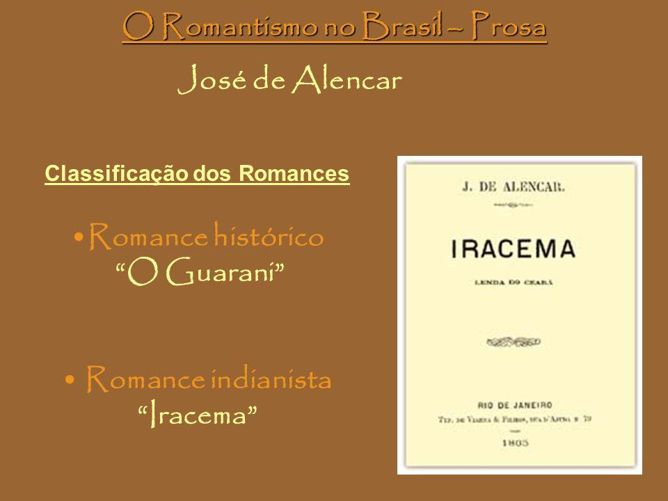 O Romantismo no Brasil – Prosa