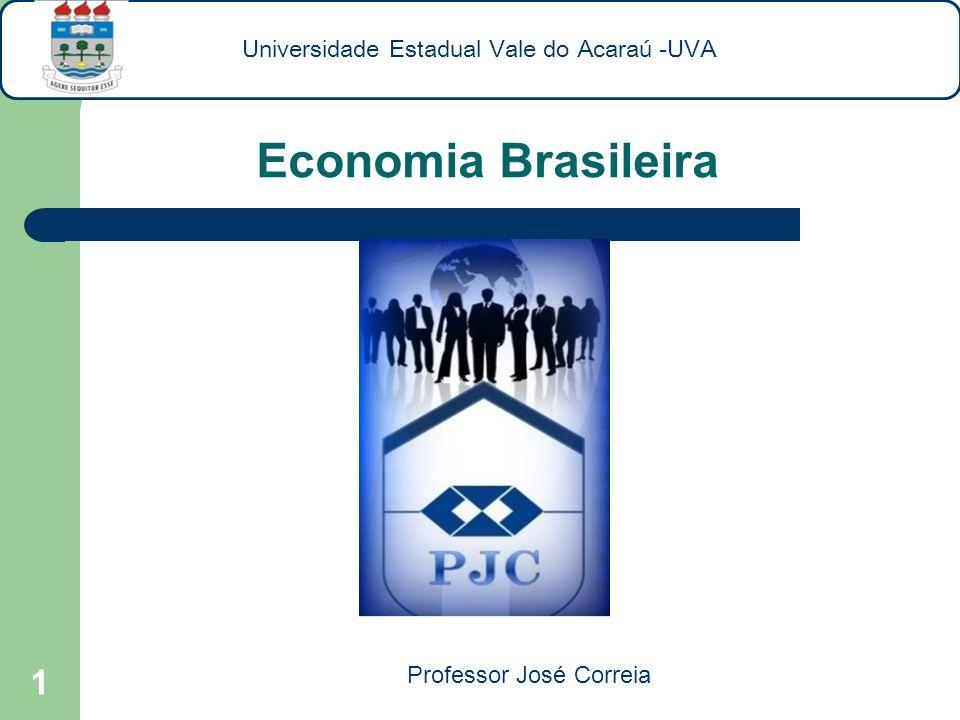 Economia Brasileira Universidade Estadual Vale do Acaraú -UVA